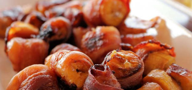 Plantains Wrapped in Bacon